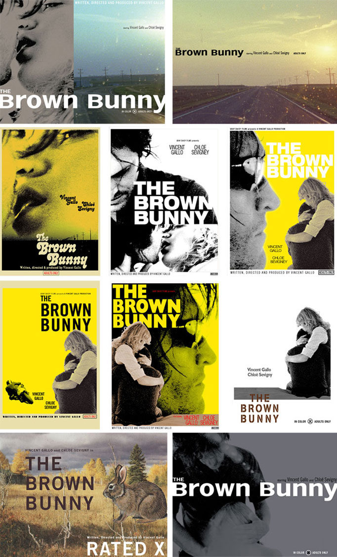 brown bunny posters