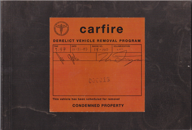 carfire book cover