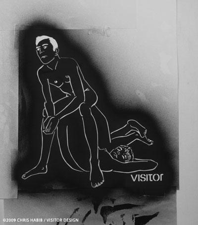 thurston shirt stencil
